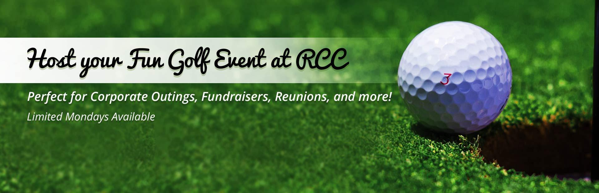 Host an Event at RCC