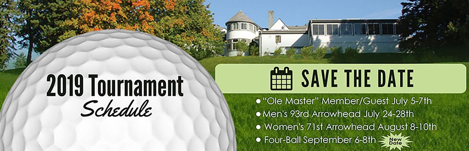 Tournament Schedule